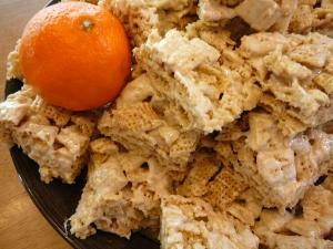 wild orange cereal squares